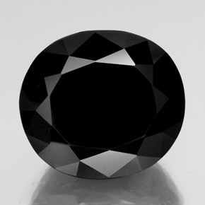 thumb image of 61.6ct Oval Facet Black Tourmaline (ID: 347923)
