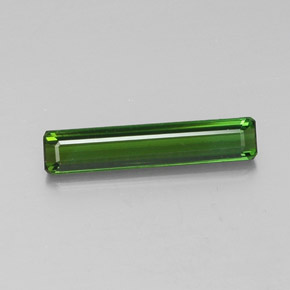 2.1ct Octagon Facet Medium-Dark Green Tourmaline Gem (ID: 348379)