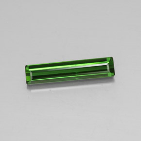 2.4ct Octagon Facet Medium-Dark Green Tourmaline Gem (ID: 348401)