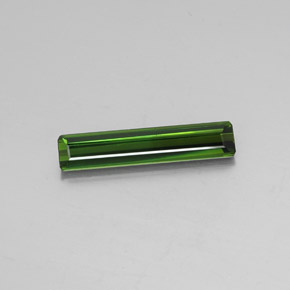 2.7ct Octagon Facet Dark Green Tourmaline Gem (ID: 348403)