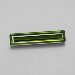 2.3ct Octagon Facet Medium Green Tourmaline Gem (ID: 348524)