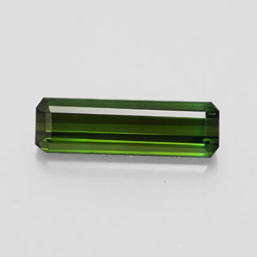 2.5ct Octagon Facet Dark Green Tourmaline Gem (ID: 348534)