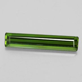 2.4ct Octagon Facet Deep Green Tourmaline Gem (ID: 348536)