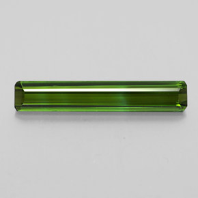 2.3ct Octagon Facet Earthy Green Tourmaline Gem (ID: 348978)
