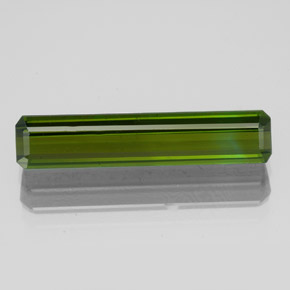 2.8ct Octagon Facet Earthy Green Tourmaline Gem (ID: 348994)