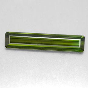 2.3ct Octagon Facet Deep Green Tourmaline Gem (ID: 349007)