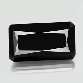 thumb image of 18ct Octagon / Scissor Cut Black Tourmaline (ID: 349266)