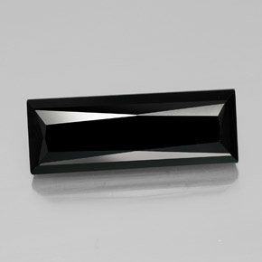 30.4ct Baguette / Scissor Cut Black Tourmaline Gem (ID: 349359)