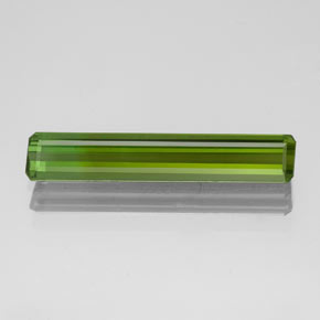 1.5ct Octagon Facet Seaweed Green Tourmaline Gem (ID: 349554)