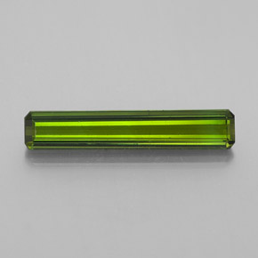 1.6ct Octagon Facet Medium Green Tourmaline Gem (ID: 349600)