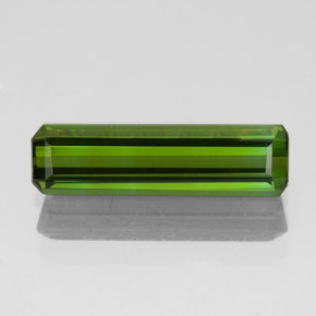 1.1ct Octagon Facet Dark Green Tourmaline Gem (ID: 349689)