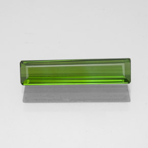 1.2ct Octagon Facet Seaweed Green Tourmaline Gem (ID: 349698)