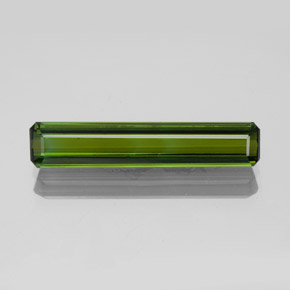 1.9ct Octagon Facet Medium Green Tourmaline Gem (ID: 350303)