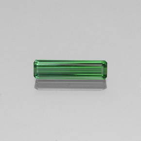 1.4ct Octagon Facet Medium Green Tourmaline Gem (ID: 350712)