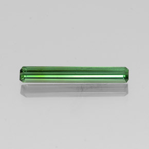 1.5ct Octagon Facet Green Tourmaline Gem (ID: 350730)
