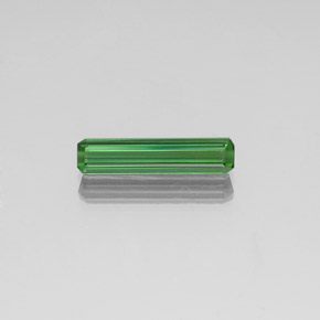 1.8ct Octagon Facet Green Tourmaline Gem (ID: 350839)