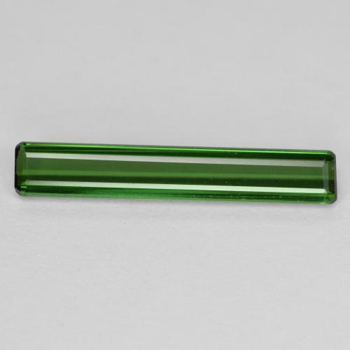 1.8ct Octagon Facet Green Tourmaline Gem (ID: 350851)