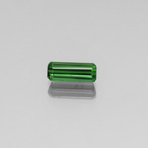 1ct Octagon Facet Green Tourmaline Gem (ID: 350860)