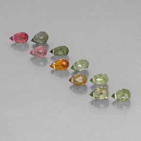 Buy 4.22 ct Multicolor Tourmaline 5.38 mm  from GemSelect (Product ID: 352897)