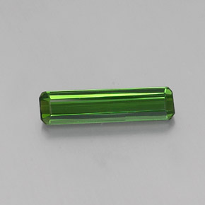 2.2ct Octagon Facet Forest Green Tourmaline Gem (ID: 362359)
