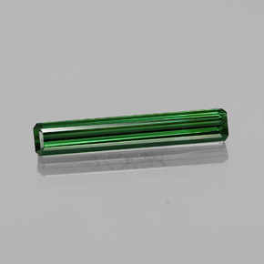2.6ct Octagon Facet Green Tourmaline Gem (ID: 362502)