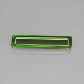 1.5ct Octagon Facet Forest Green Tourmaline Gem (ID: 364205)