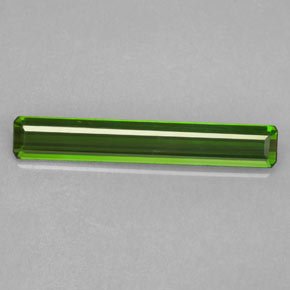 1.7ct Octagon Facet Forest Green Tourmaline Gem (ID: 364209)