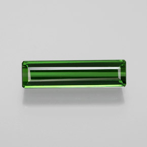 1.6ct Octagon Facet Forest Green Tourmaline Gem (ID: 365060)