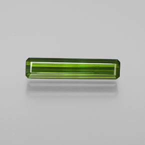 1.5ct Octagon Facet Medium Green Tourmaline Gem (ID: 365079)