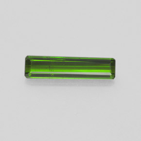 1.4ct Octagon Facet Forest Green Tourmaline Gem (ID: 365148)