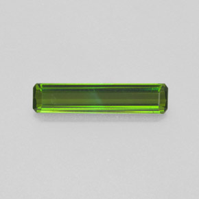 1.2ct Octagon Facet Medium Green Tourmaline Gem (ID: 365151)