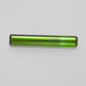 1.5ct Octagon Facet Forest Green Tourmaline Gem (ID: 365172)
