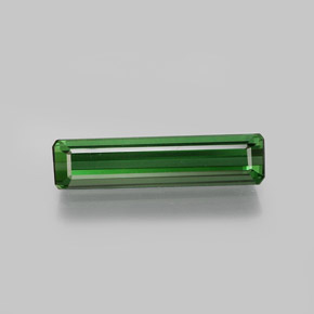 1.8ct Octagon Facet Green Tourmaline Gem (ID: 370057)