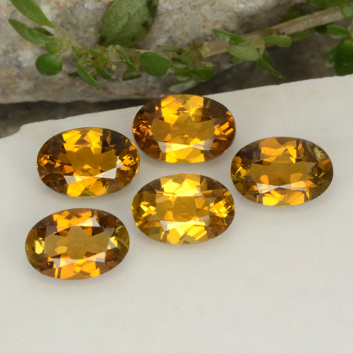 Golden Tourmaline Gem - 0.5ct Oval Facet (ID: 379450)