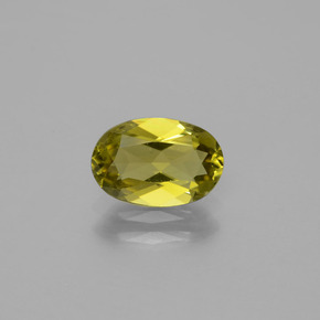 Brownish Yellow Turmalina Gema - 1.2ct Forma ovalada (ID: 388845)