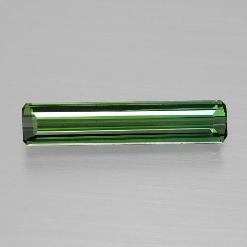 Medium Green Tourmaline Gem - 1.4ct Octagon Facet (ID: 398160)