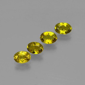 Golden Brown Tourmaline Gem - 0.5ct Oval Facet (ID: 401884)