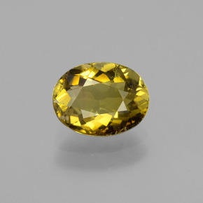 Autumn Yellow Turmalina Gema - 1.2ct Forma ovalada (ID: 402892)