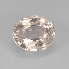 1.6ct Oval Facet Salmon Pink Tourmaline Gem (ID: 415287)
