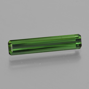 1.2ct Octagon Facet Green Tourmaline Gem (ID: 415993)