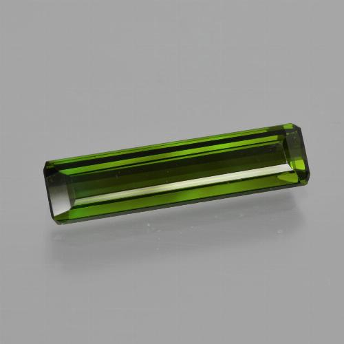 1.80 ct Octagon Facet Green Tourmaline Gemstone 15.94 mm x 3.9 mm (Product ID: 416063)