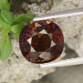 Deep Red Tourmaline Gem - 2.7ct Cushion-Cut (ID: 416476)