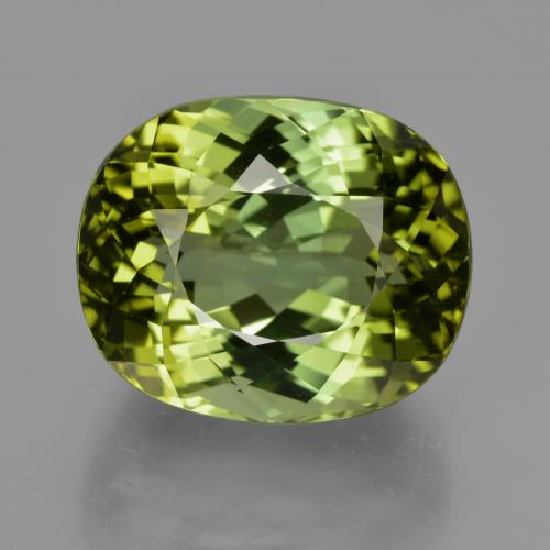 Buy 24.08 ct Golden Green Tourmaline 17.42 mm x 14.5 mm from GemSelect (Product ID: 417191)