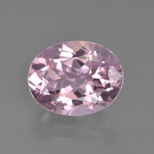 3.14 ct Oval Facet Pink Tourmaline Gemstone 10.76 mm x 8.4 mm (Product ID: 417208)