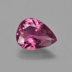 1.82 ct Pear Facet Pink Tourmaline Gemstone 10.11 mm x 7.8 mm (Product ID: 417264)