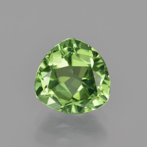 1.86 ct Trillion Facet Forest Green Tourmaline Gemstone 7.97 mm x 8 mm (Product ID: 417274)