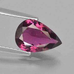 Pink Tourmaline Gem - 1.6ct Pear Facet (ID: 417614)