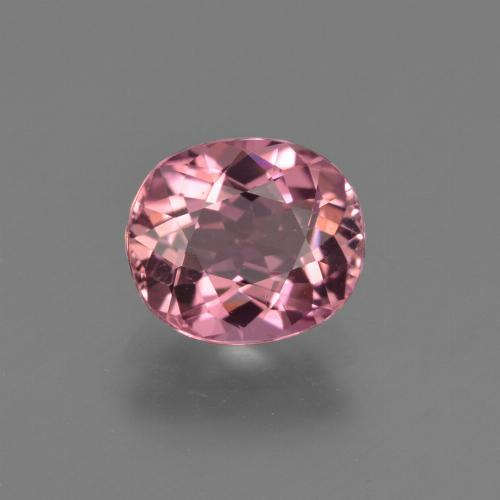 1.2ct Oval Facet Magenta Pink Tourmaline Gem (ID: 419596)