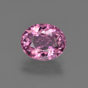 1.49 ct Oval Facet Pink Tourmaline Gemstone 8.00 mm x 6.5 mm (Product ID: 419603)