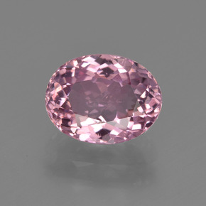 1.86 ct Oval Facet Pink Tourmaline Gemstone 8.67 mm x 6.7 mm (Product ID: 419618)
